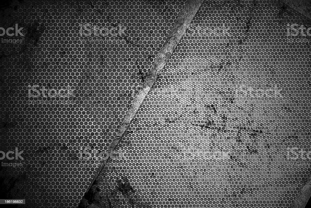 Grungy Metal Texture stock photo