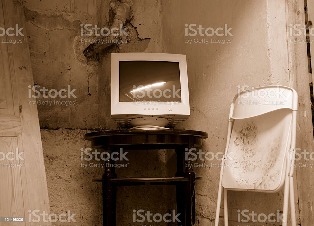 Grungy Office royalty-free stock photo