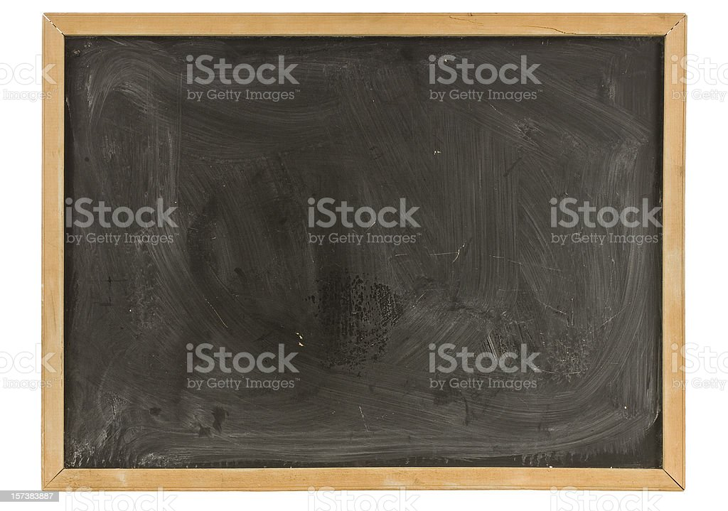Grungy Old Blackboard royalty-free stock photo