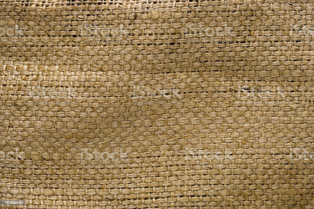 Grungy old Burlap background royalty-free stock photo
