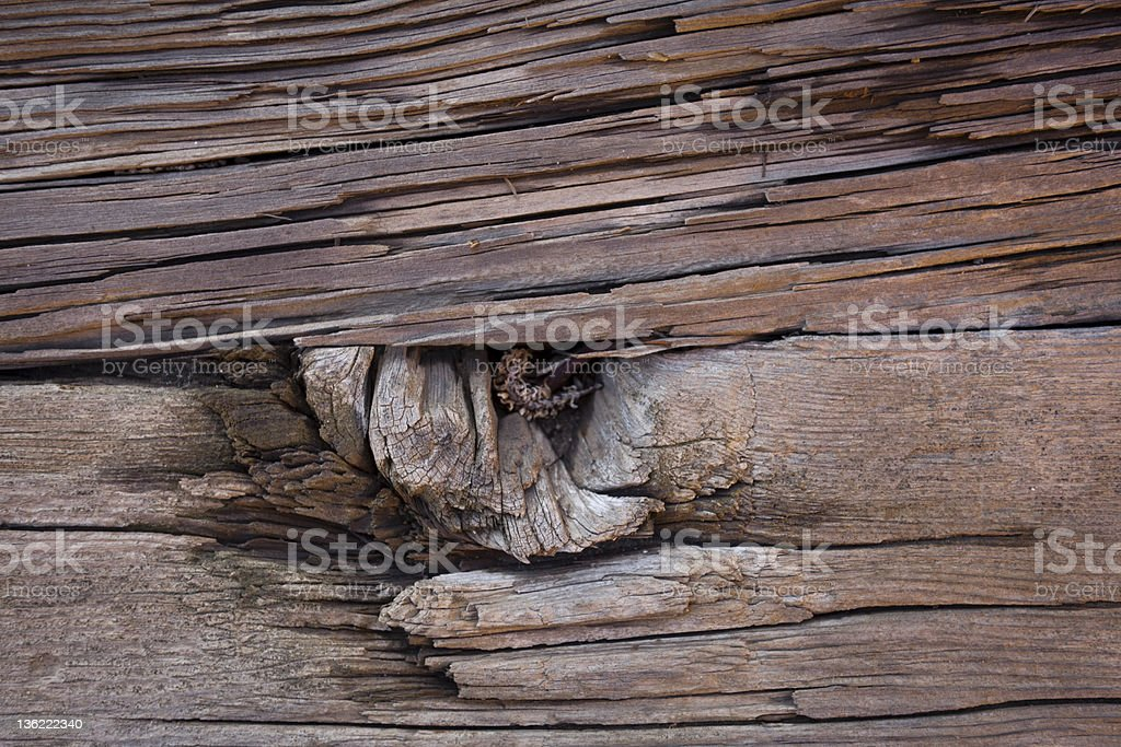 Grungy, old lumber building material royalty-free stock photo