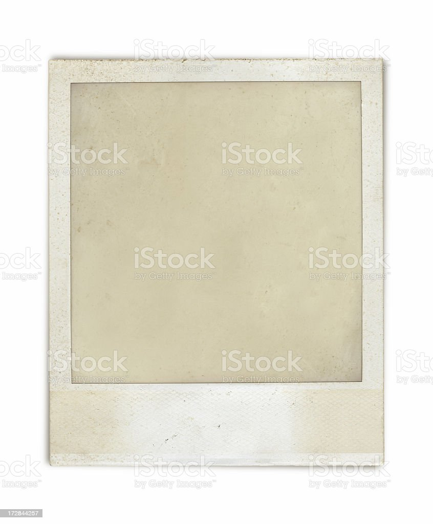 Grungy old picture royalty-free stock photo