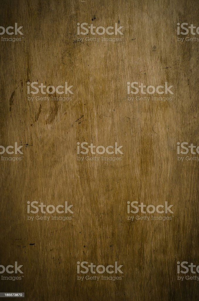 Grungy Old Wood Panel royalty-free stock photo