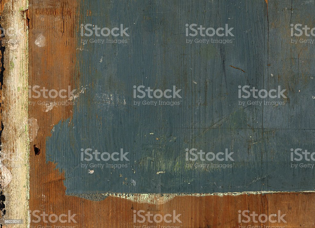 Grungy Painted Wood Background XXL royalty-free stock photo