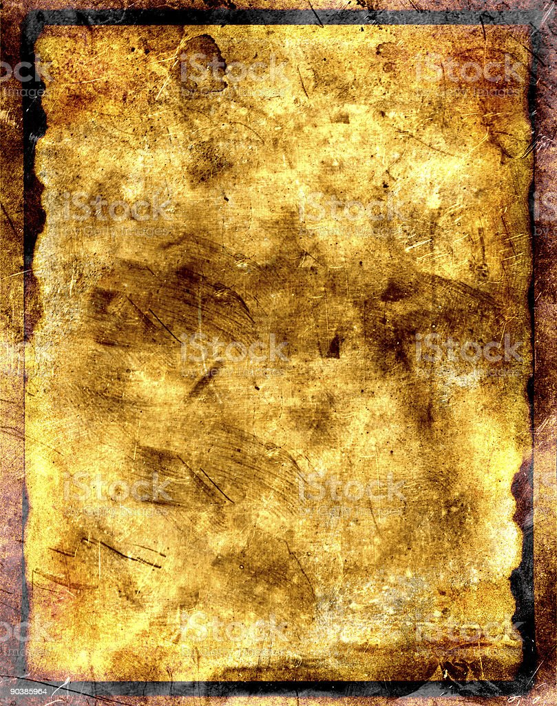 grungy paper and metal background texture stock photo
