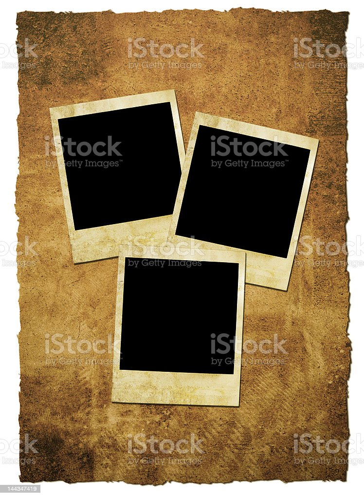 Grungy Photos royalty-free stock photo