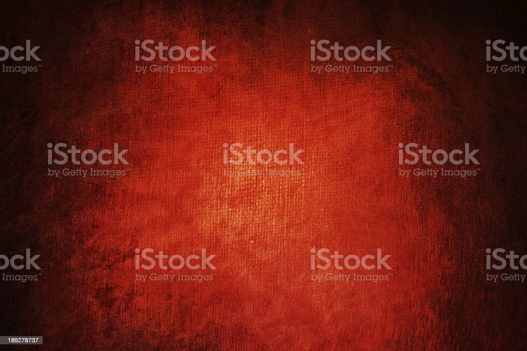 Grungy red canvas royalty-free stock photo