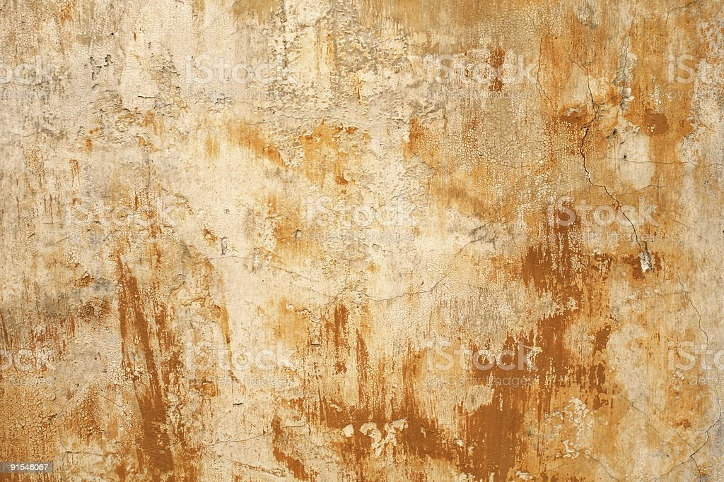 Grungy Roman wall texture background, Rome Italy royalty-free stock photo