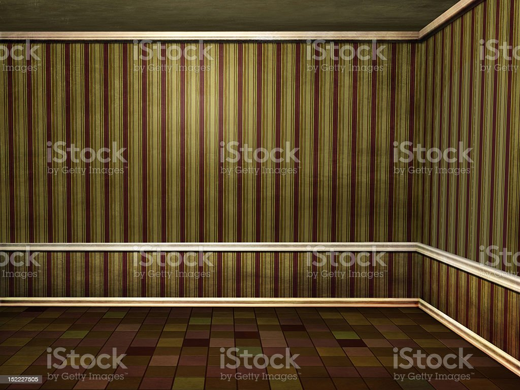 Grungy room royalty-free stock photo