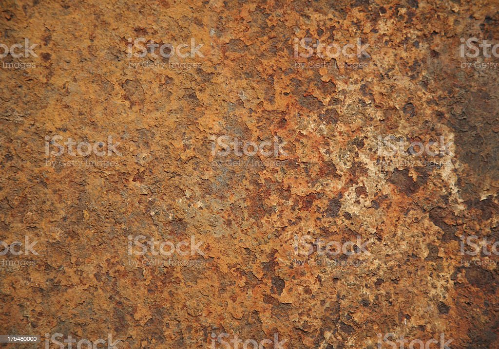Grungy Rust Texture Background royalty-free stock photo