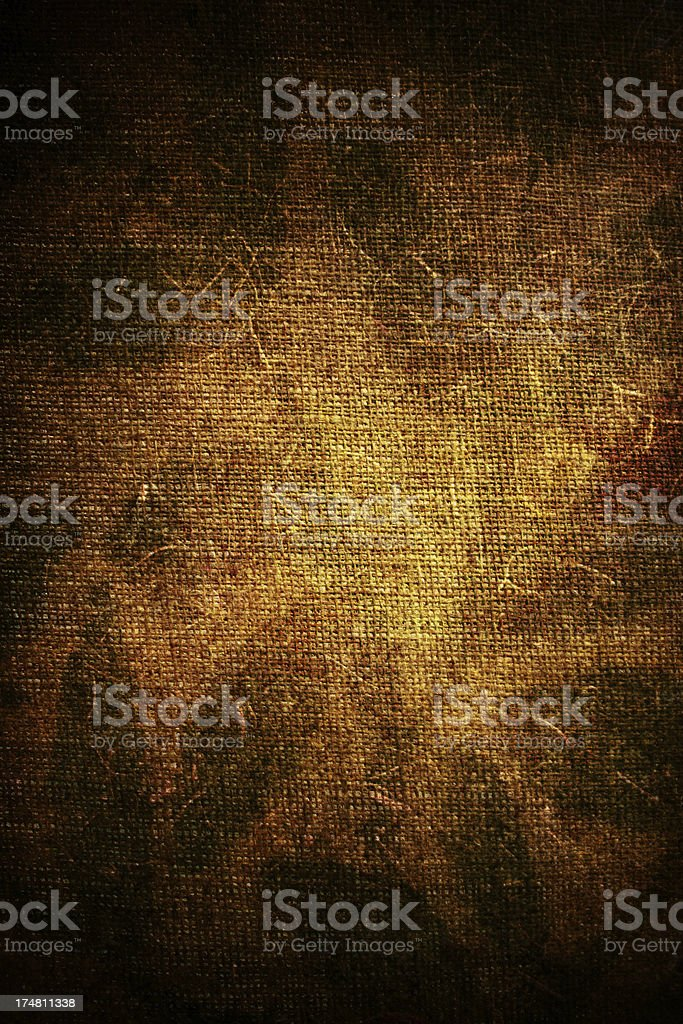 Grungy rusted burlap royalty-free stock photo