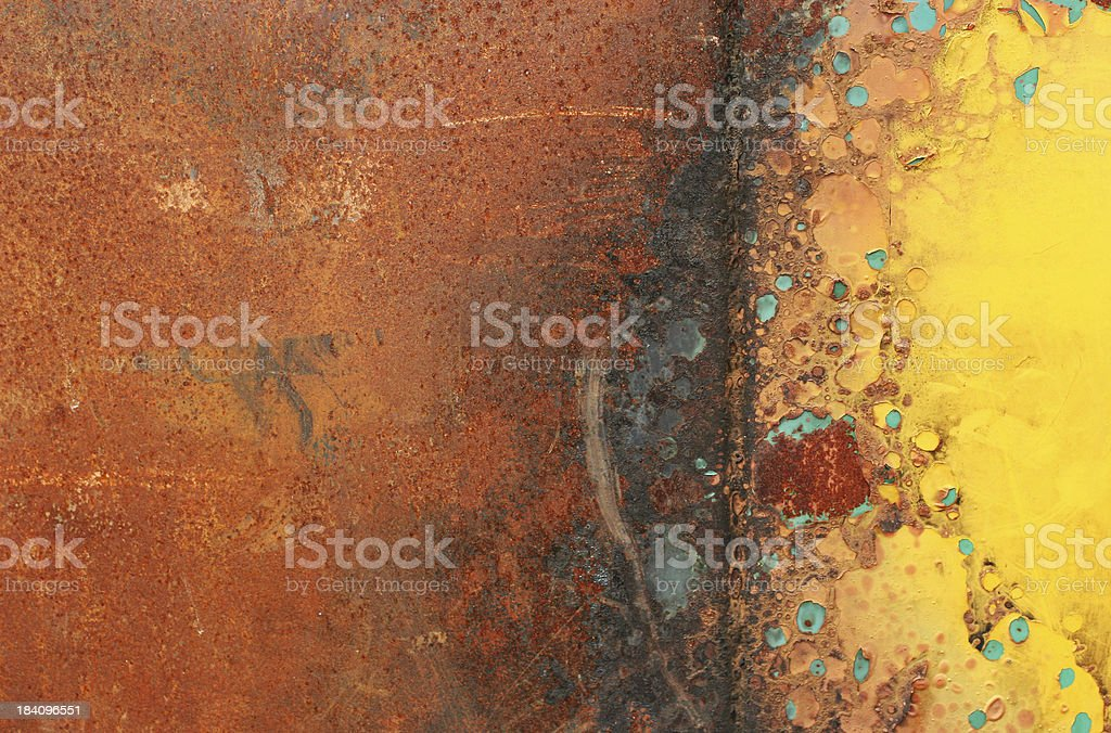 Grungy Rusted Texture royalty-free stock photo