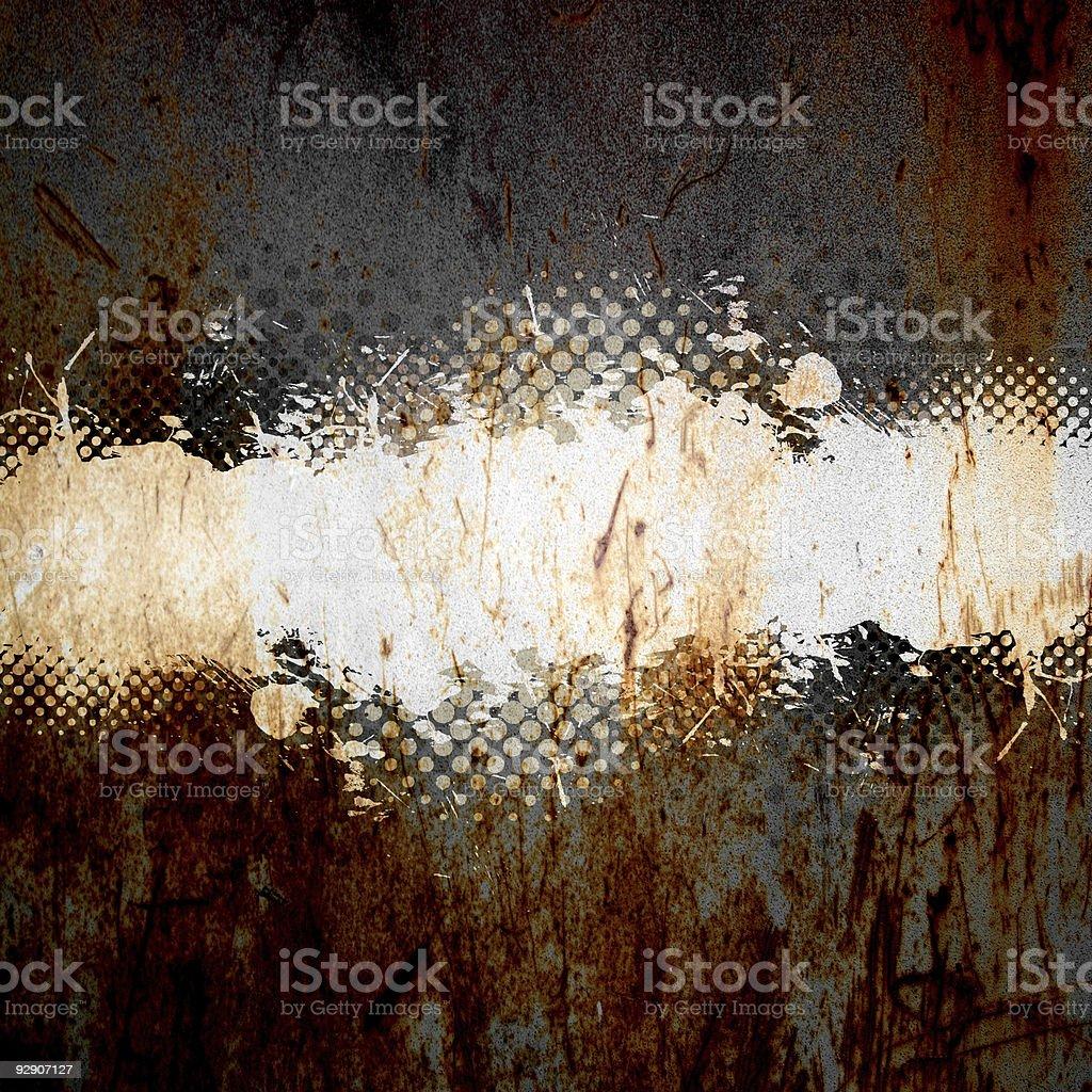 Grungy Splatter Template stock photo
