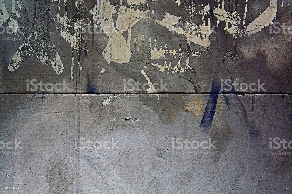 Grungy Stone Wall royalty-free stock photo