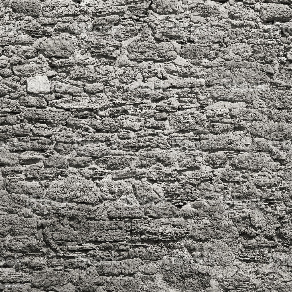 Grungy stone wall royalty-free stock photo