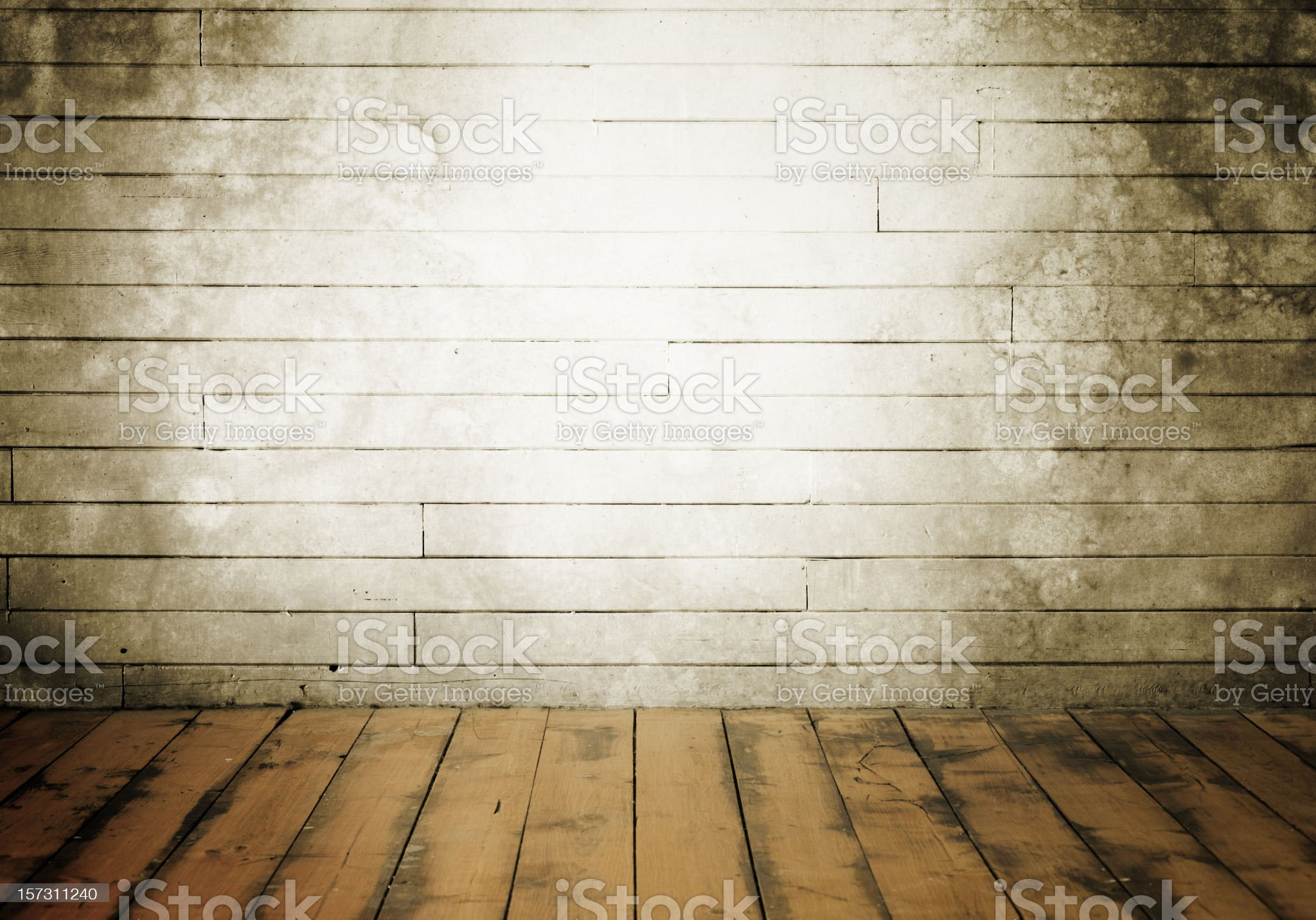 Grungy Theatre Stage royalty-free stock photo