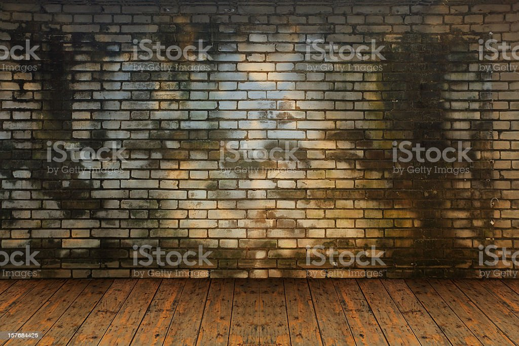 Grungy Theatre Stage stock photo