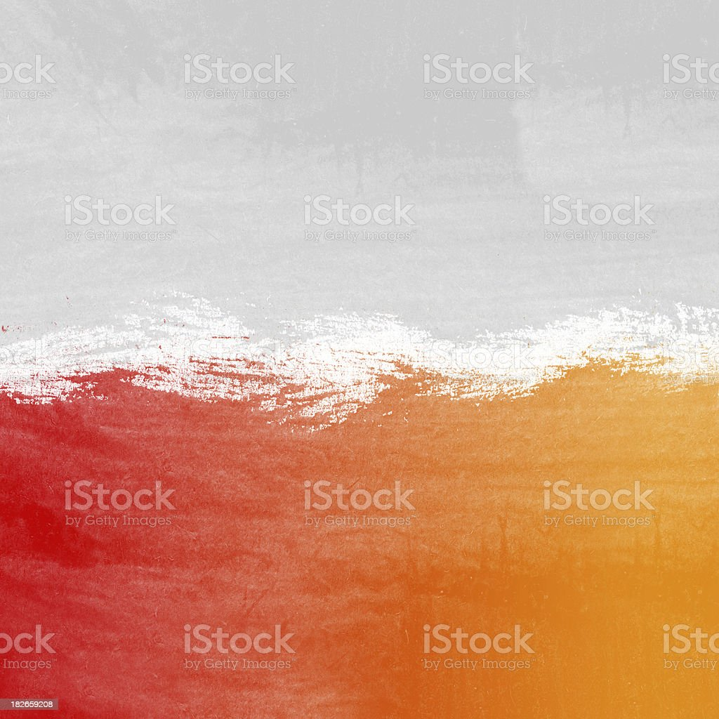Grungy wallpaper orange 2 royalty-free stock photo