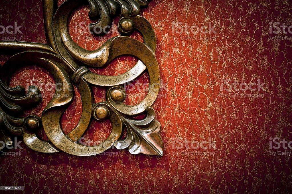 Grungy Wallpaper royalty-free stock photo