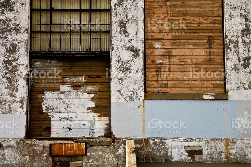 grungy warehouse royalty-free stock photo