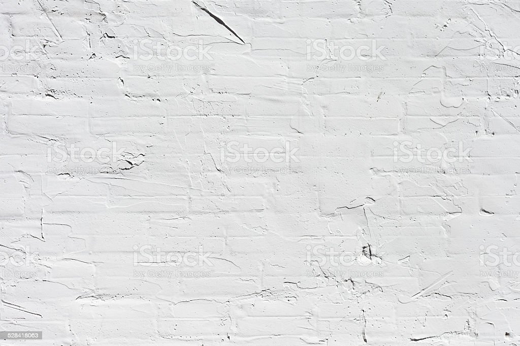 Grungy white concrete wall background stock photo
