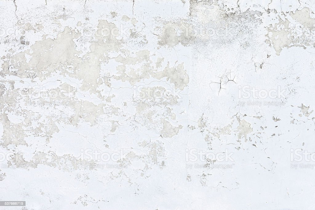 White Concrete Wall : Grungy white concrete wall background stock photo