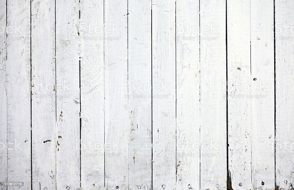 Grungy white natural wood background stock photo