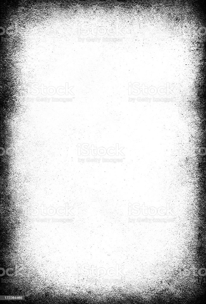 Grungy white vignette background royalty-free stock photo