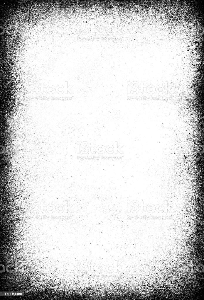 Grungy white vignette background stock photo