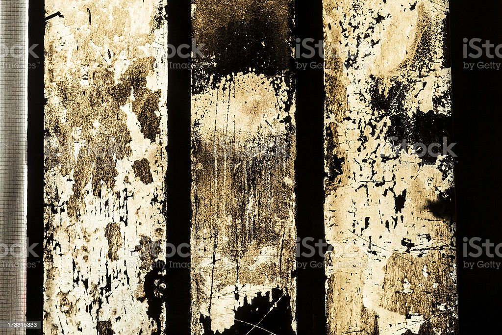 grungy window with carbon black symbolizes the dirt royalty-free stock photo