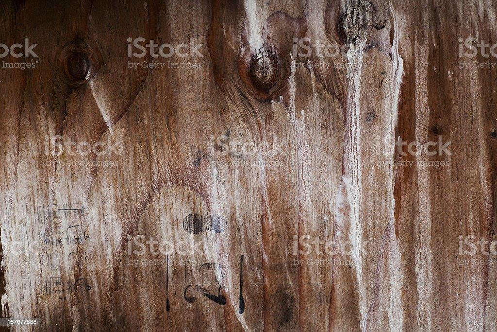Grungy wood royalty-free stock photo