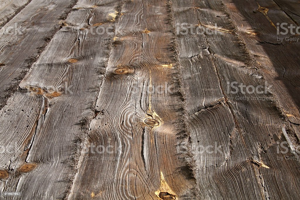 Grungy wooden textured background stock photo