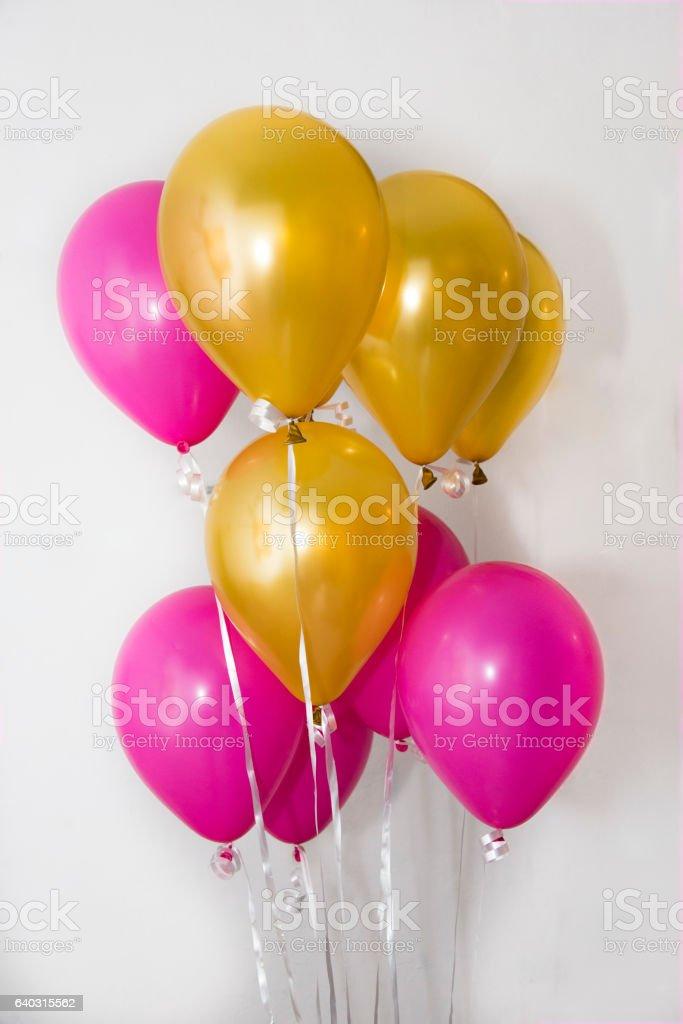 Gruppo di palloncini colorati stock photo