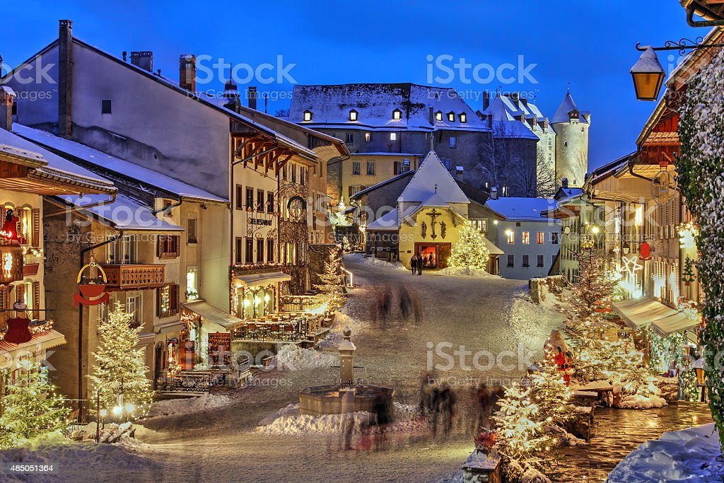 Gruyere, Switzerland stock photo