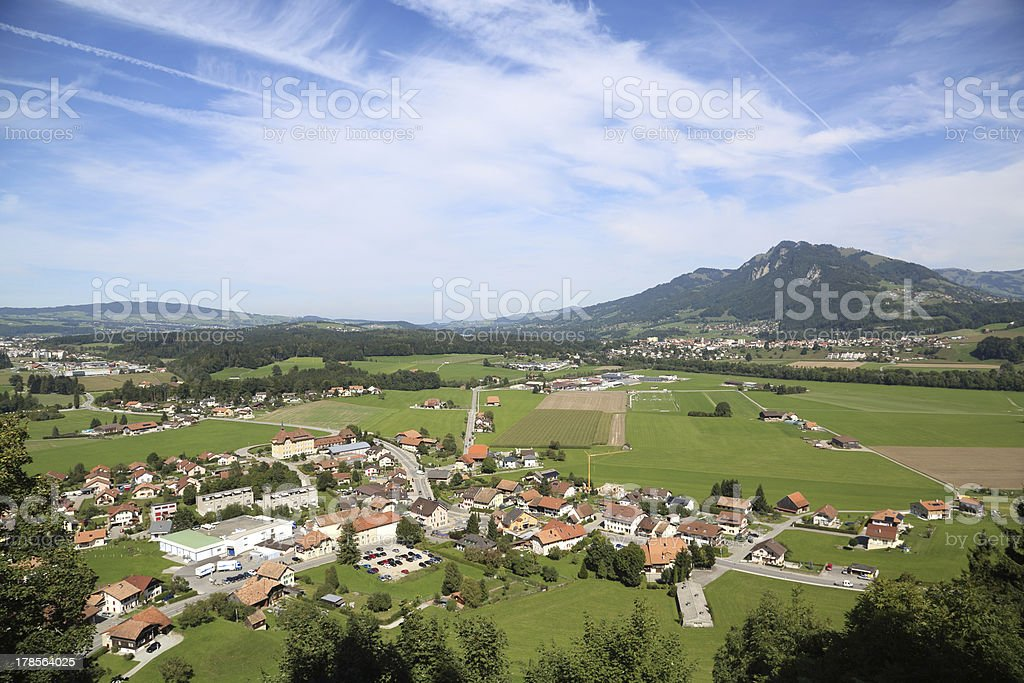 Gruyeres, Switzerland royalty-free stock photo