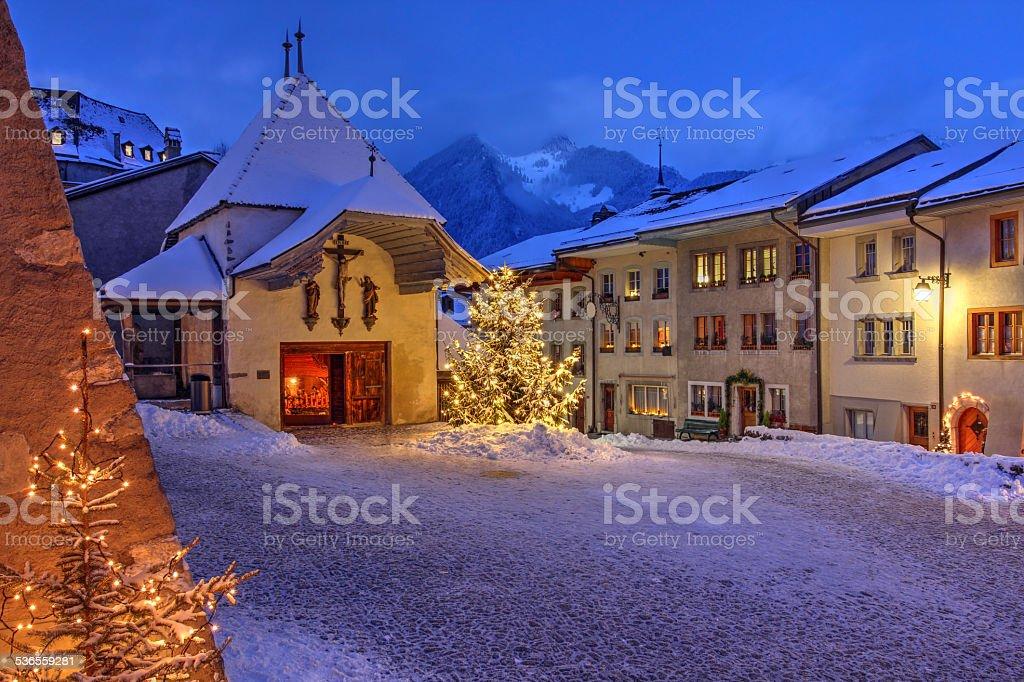 Gruyeres, Switzerland stock photo