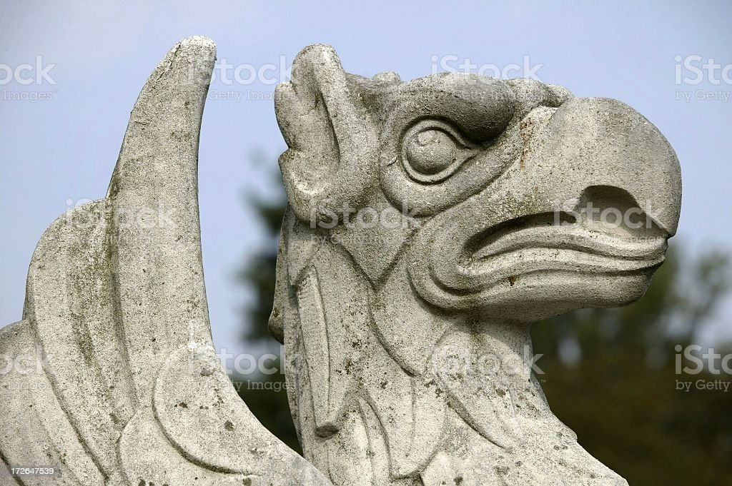 Gryphon royalty-free stock photo