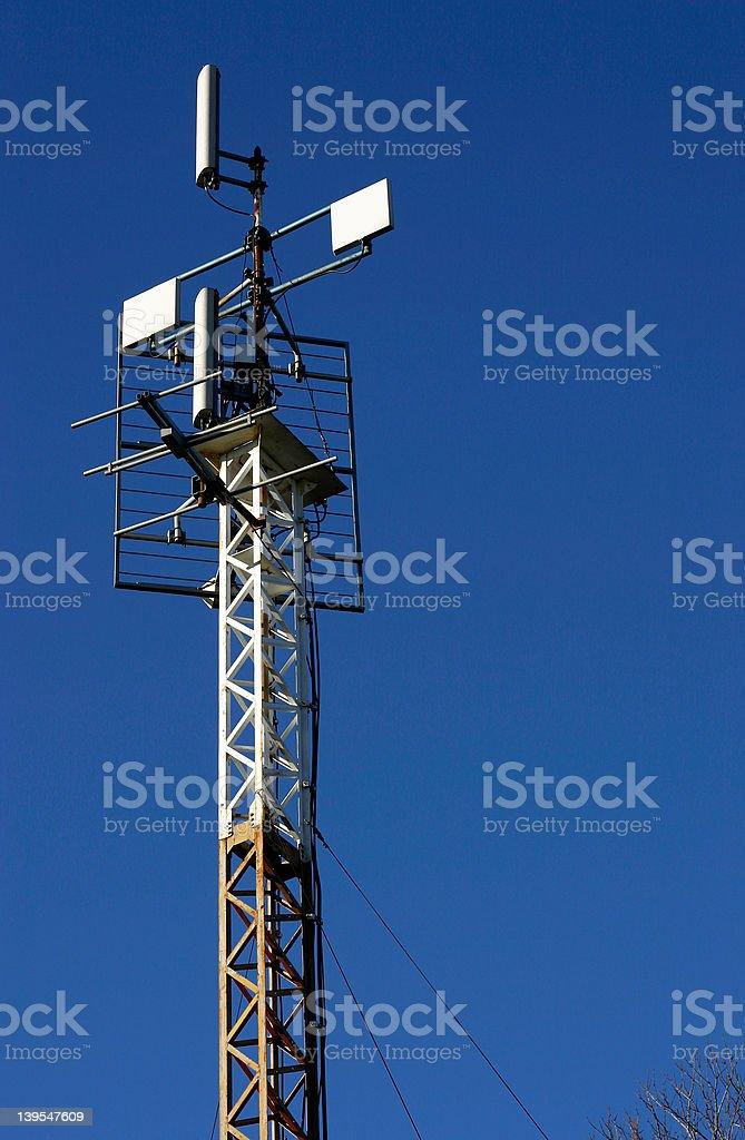 gsm cellular base station royalty-free stock photo