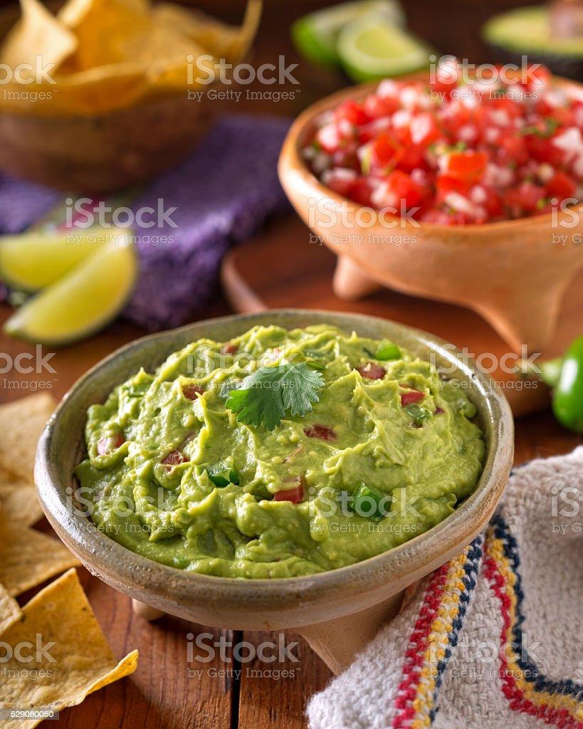 Guacamole Dip stock photo