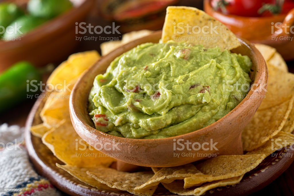 Guacamole Dip stock photo