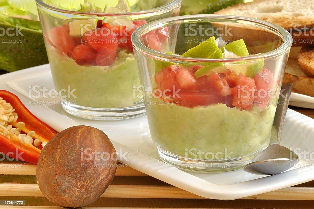 guacamole foto royalty-free