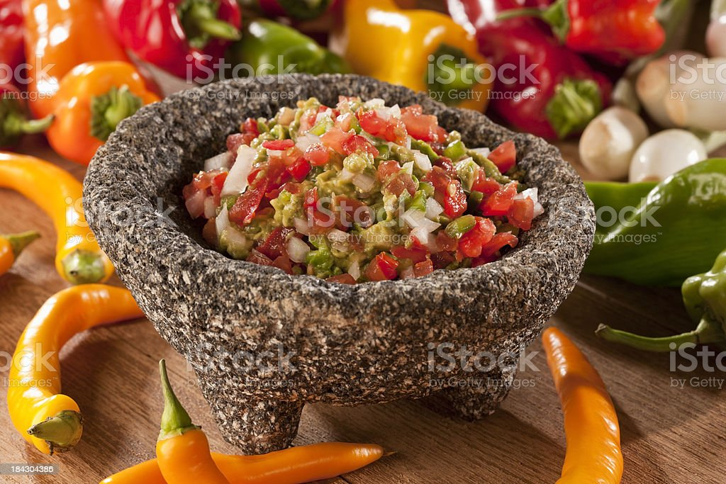 Guacamole royalty-free stock photo