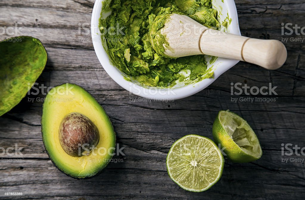 Guacamole stock photo