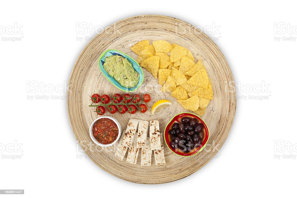 Guacamole, Salsa and more (XXXL) stock photo