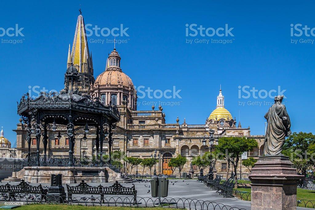 Guadalajara Cathedral - Guadalajara, Jalisco, Mexico stock photo