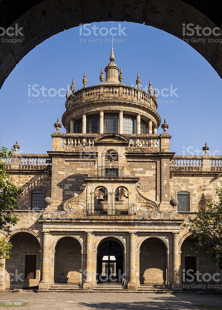 Guadalajara Cathedral Mexico stock photo