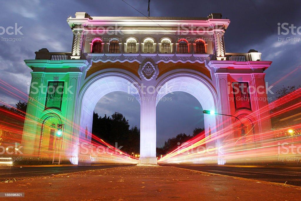 Guadalajara gateway stock photo