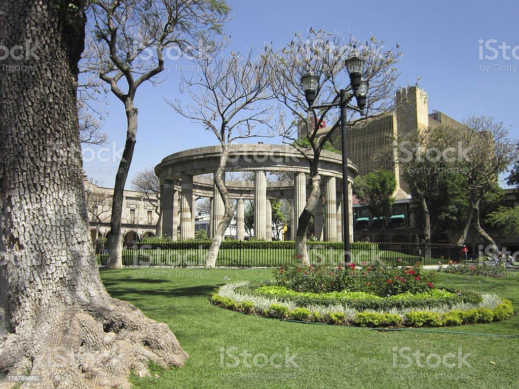Guadalajara Rotunda stock photo