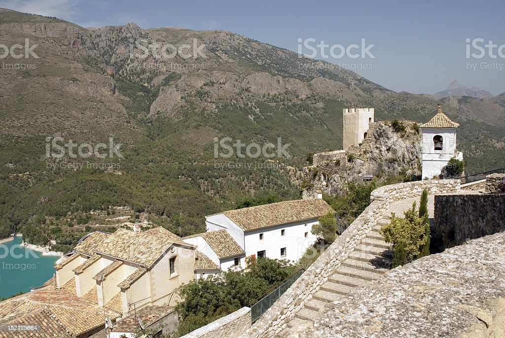 Guadalest royalty-free stock photo