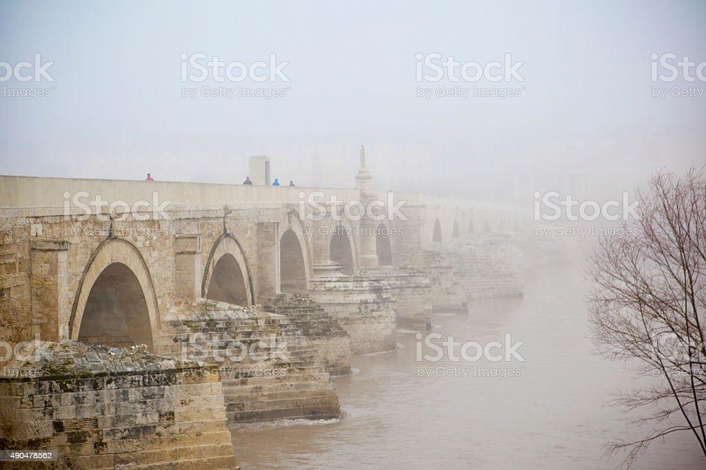 Guadalquivir River in Cordoba. Spain stock photo